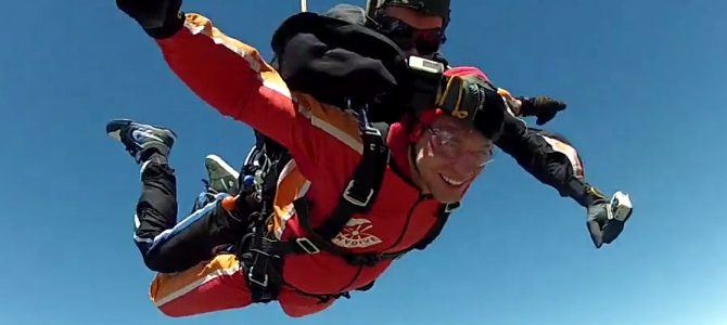 My Skydive At Lake Wanaka